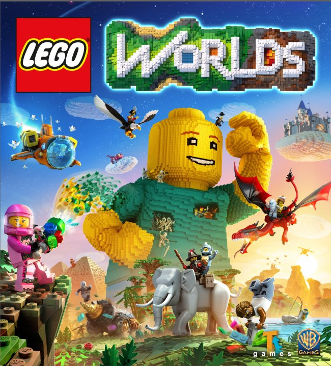 Lego Worlds kommer till Nintendo Switch