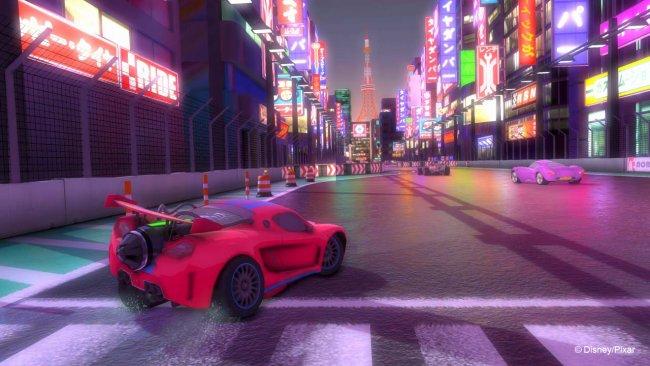 Kinect Rush: A Disney Pixar Adventure