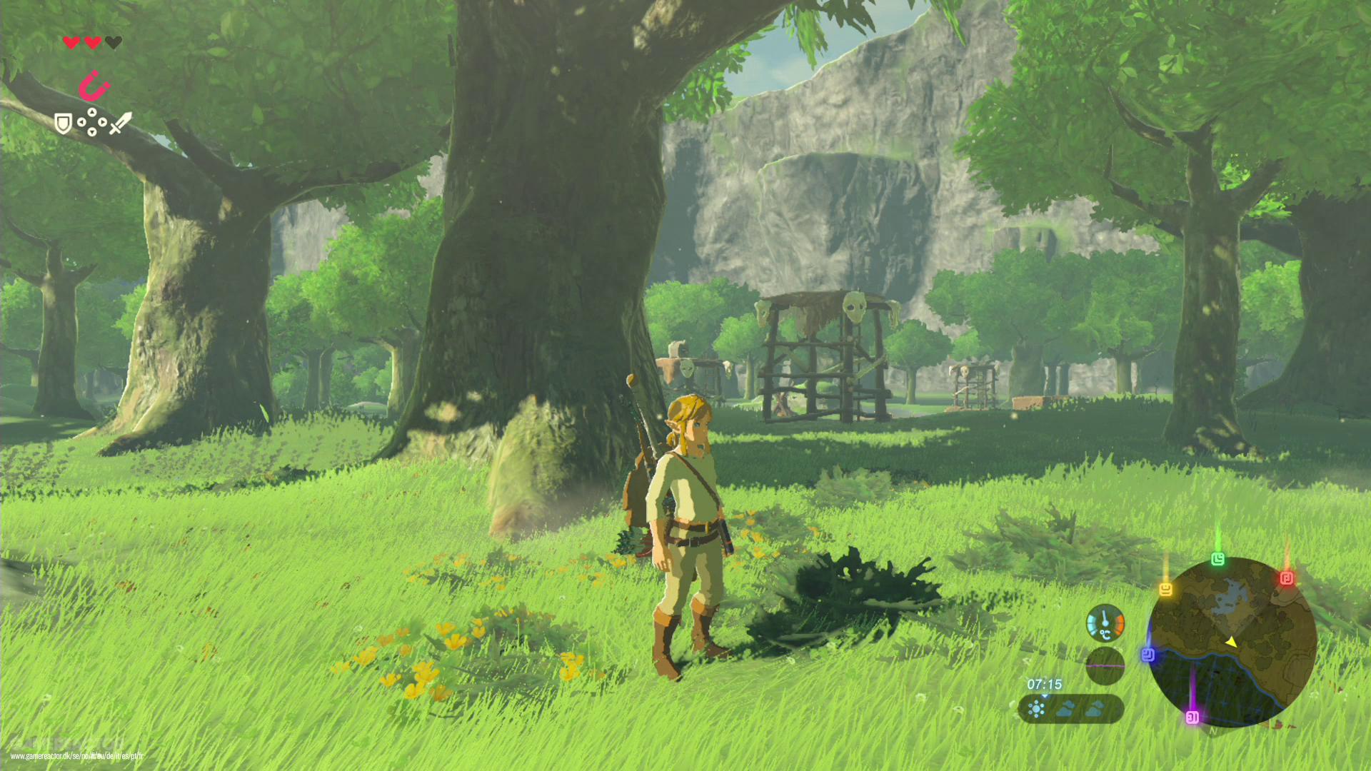 Länk och Zelda krok upp