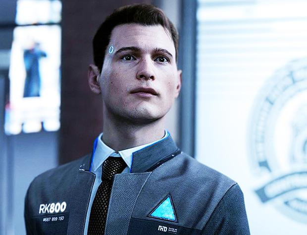 GRTV kikar på Detroit: Become Human (Connor)