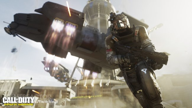 Färska bilder från Call of Duty: Infinite Warfare