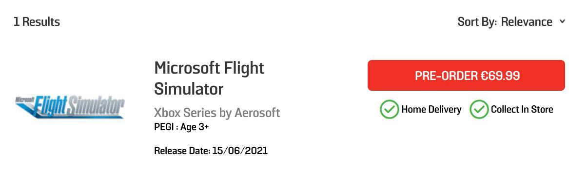 Släpps Microsoft Flight Simulator till Xbox på tisdag?