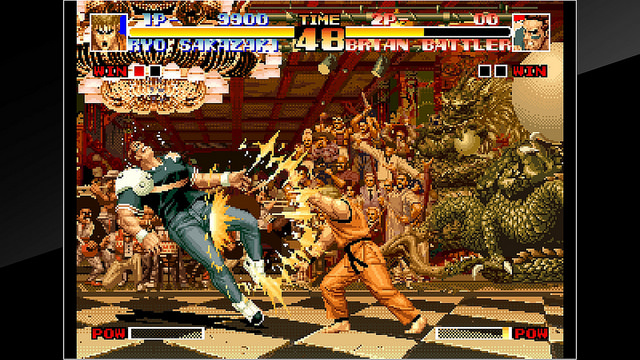 King of Fighters '94 ute nu till Playstation 4