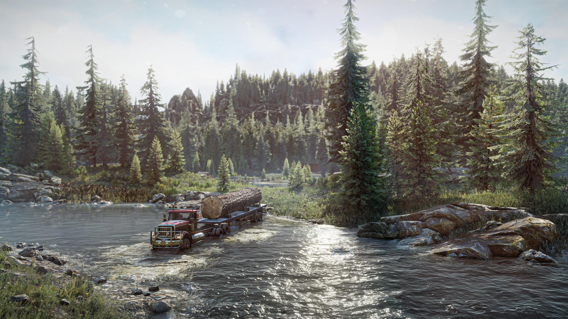SnowRunner utökas med två lastbilar helt gratis
