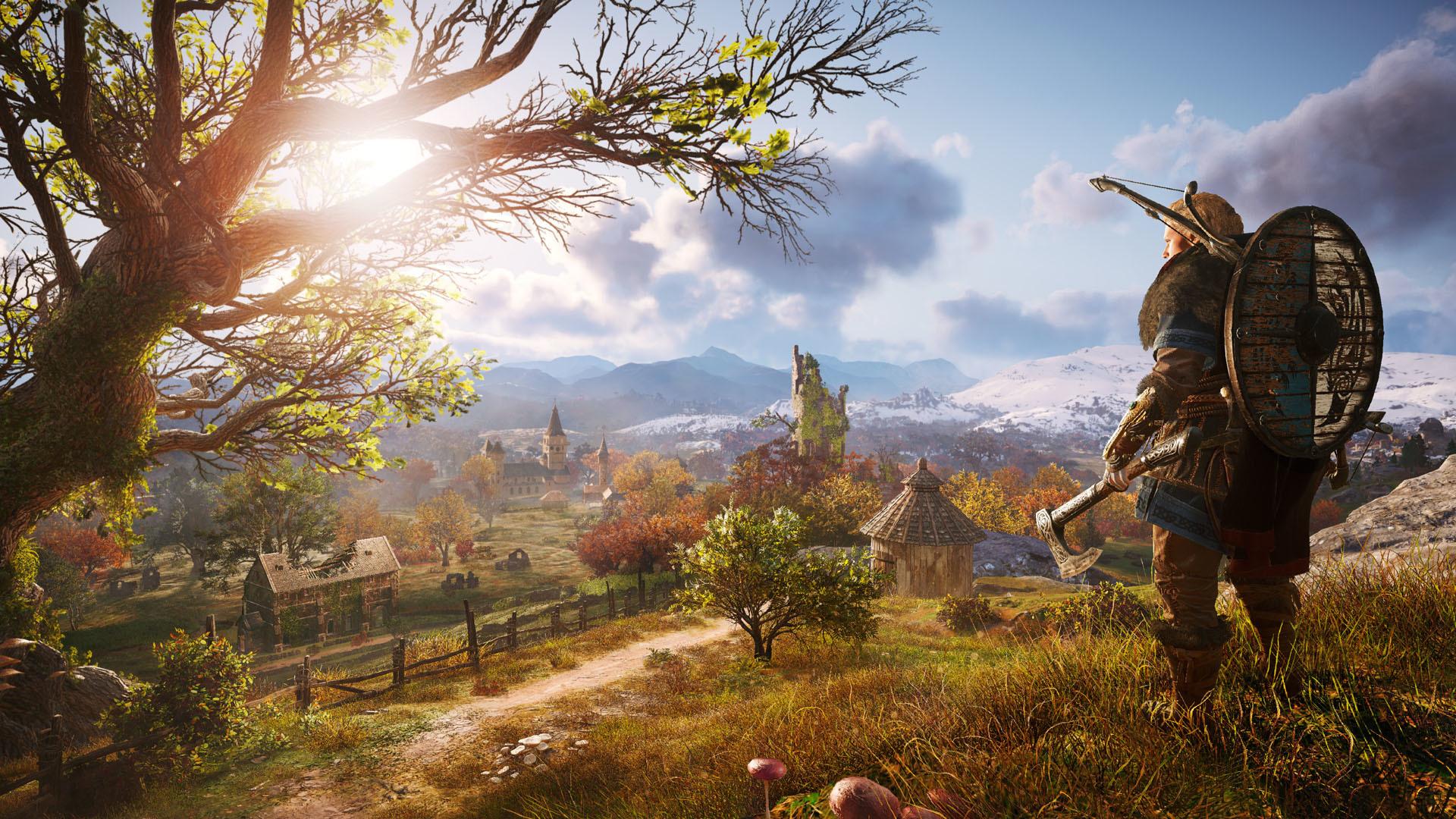 Eivor röjer runt i ny smaskig Assassins Creed Valhalla-trailer
