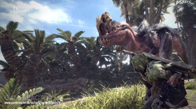 Gratis DLC-monster till Monster Hunter: World
