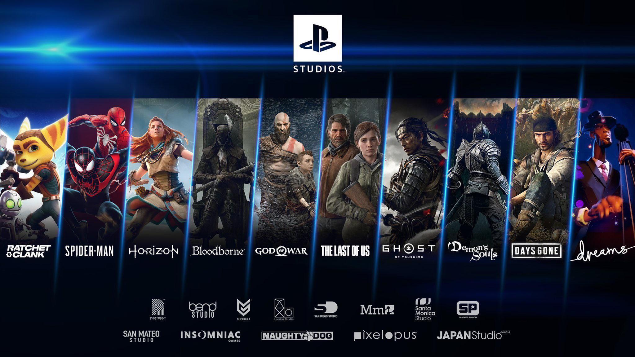 Playstation Studios jobbar på över 25 Playstation 5-spel