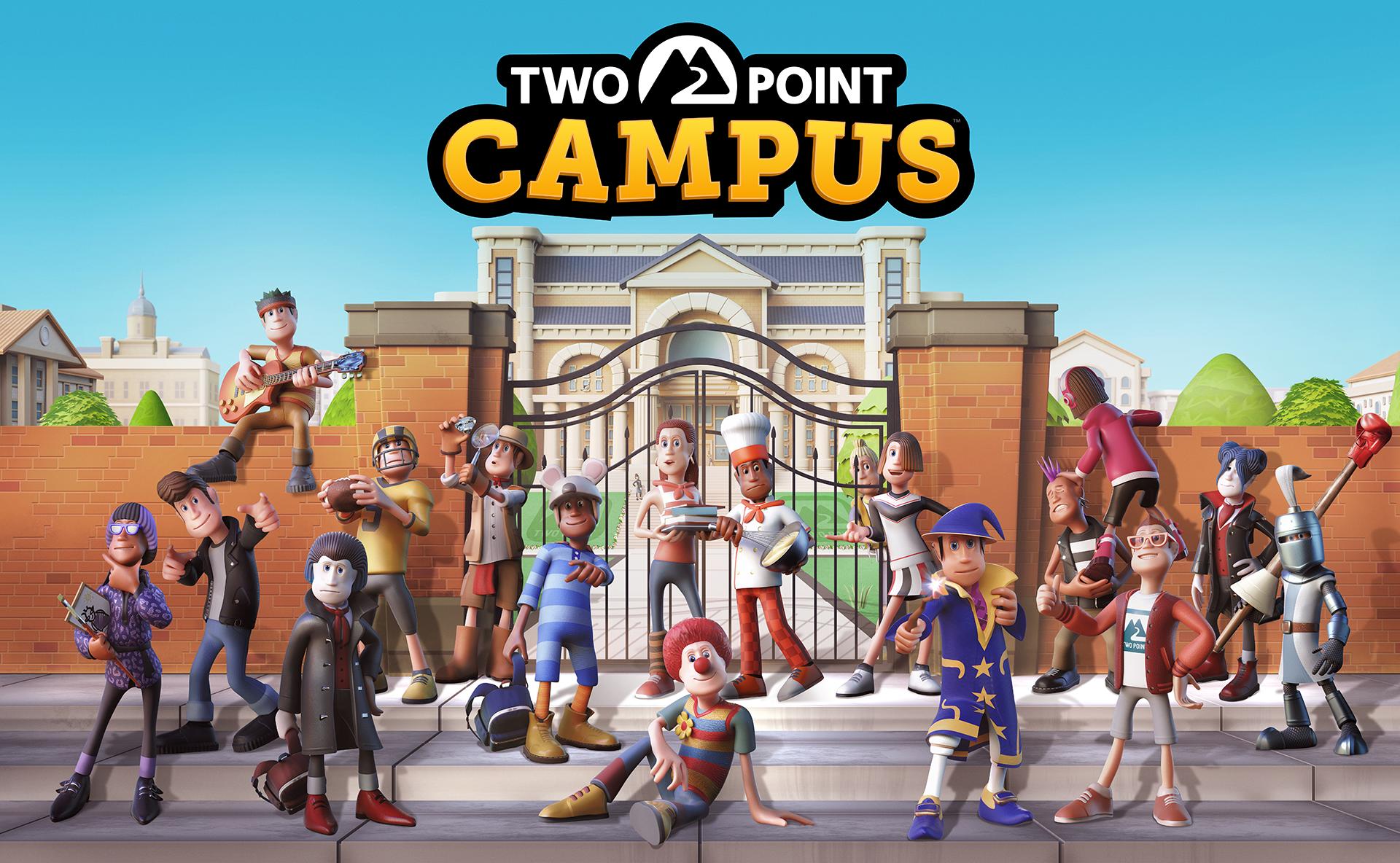 Two Point Campus släpps till PC och konsol under 2022