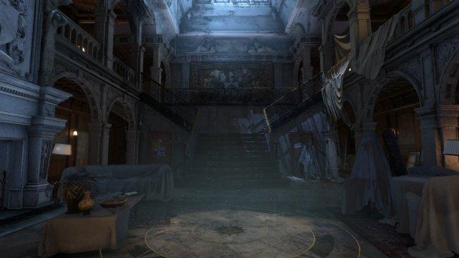 Explora la mansión de Lara en VR