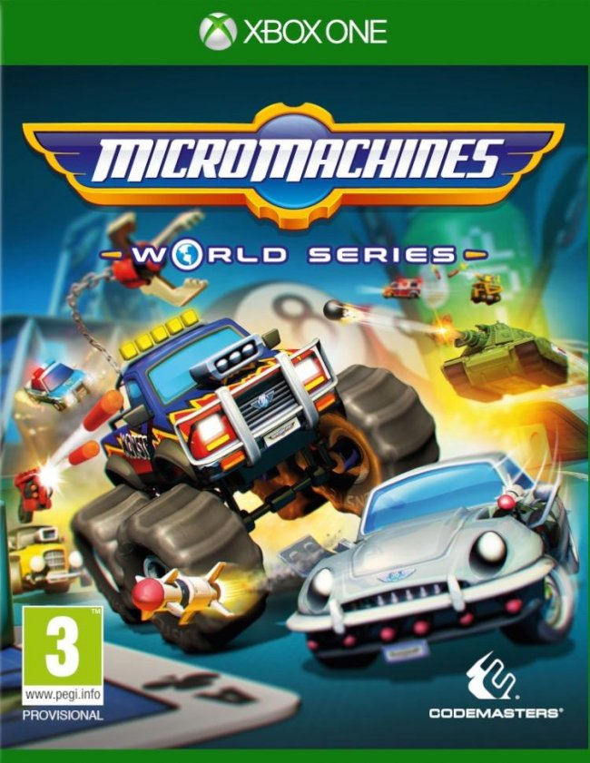Första trailern från Micro Machines: World Series