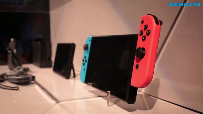 Gamereactor klämmer på Nintendo Switch