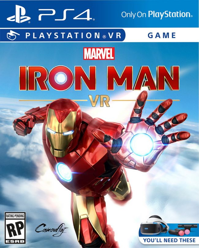 Iron Man flyger in på Playstation VR