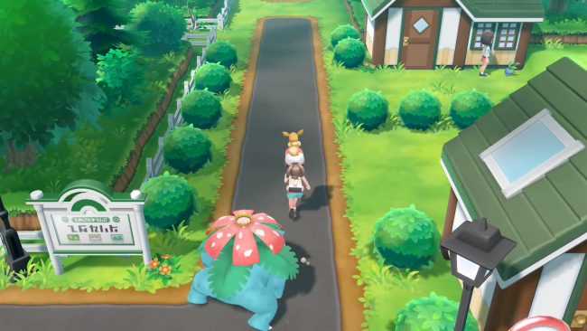 Spana in senaste Pokémon Let's Go-trailern