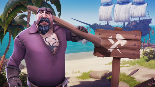 Expansion med Halloween-tema ute nu till Sea of Thieves