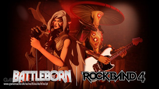 Battleborn-figurer gästspelar i Rock Band 4
