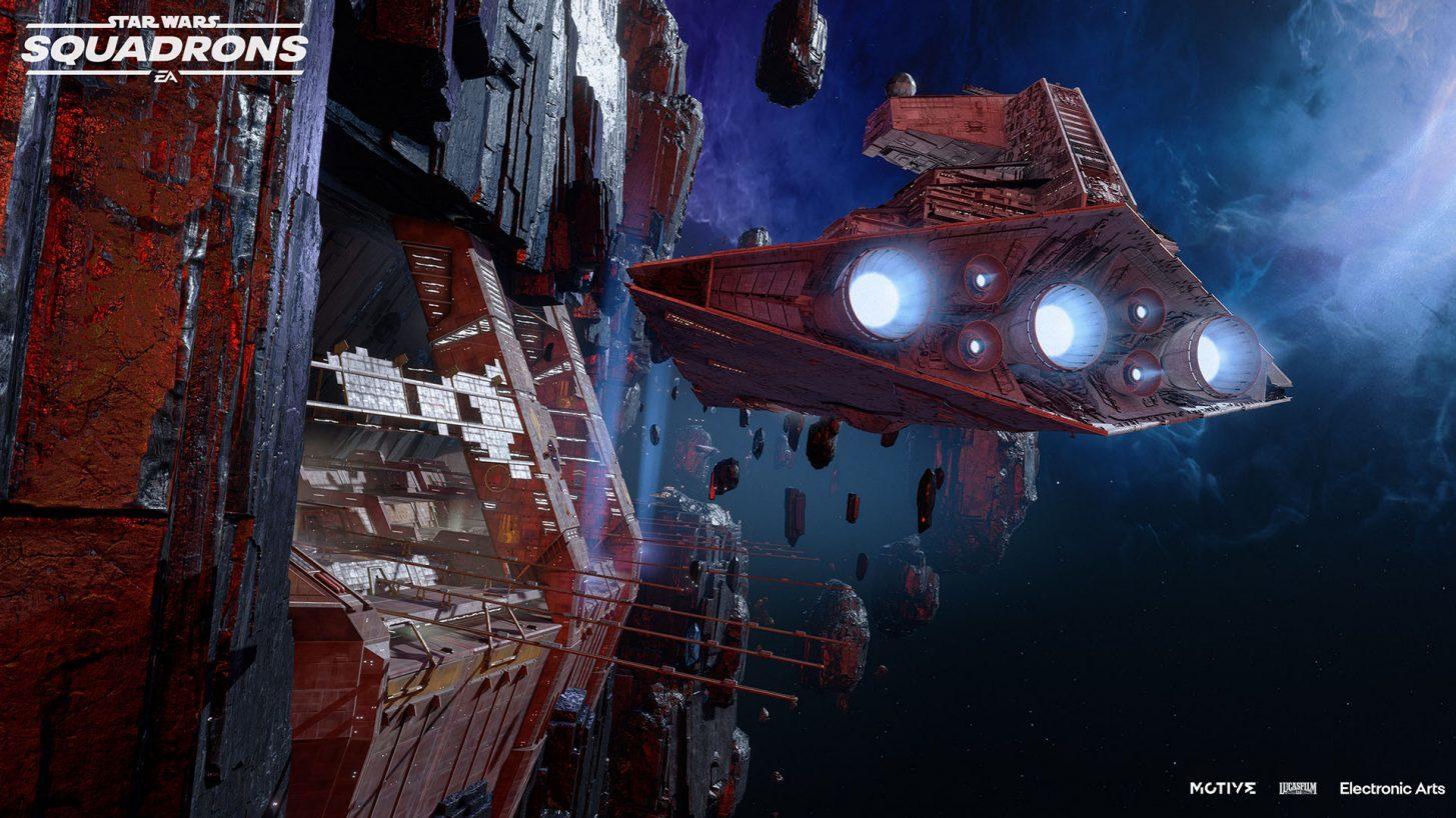 Star Wars: Squadrons byggs ut med ny bana och två nya skepp