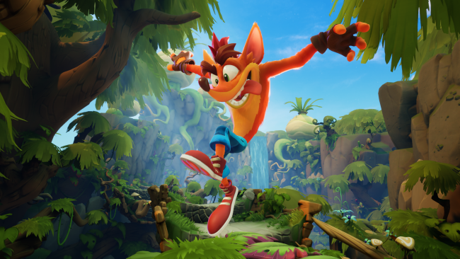Spana in lanseringstrailern för Crash Bandicoot 4: It's About Time