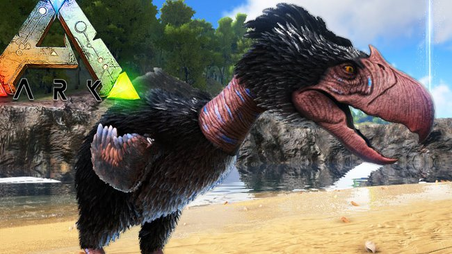Änterhake och Terror Bird till ARK: Survival Evolved