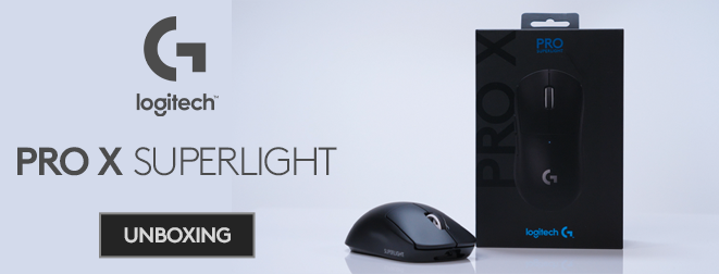Vi packar upp Logitech G Superlight