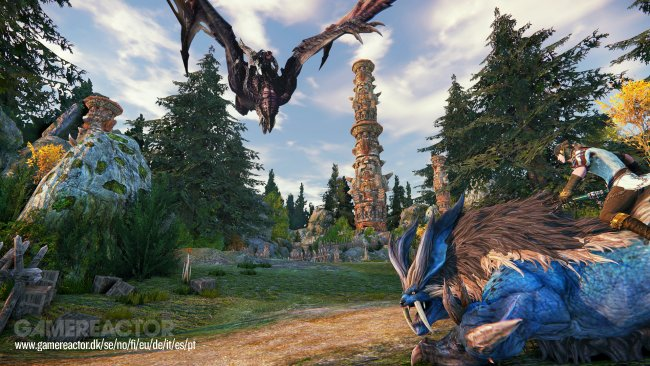 Riders of Icarus får en ny gameplay-trailer