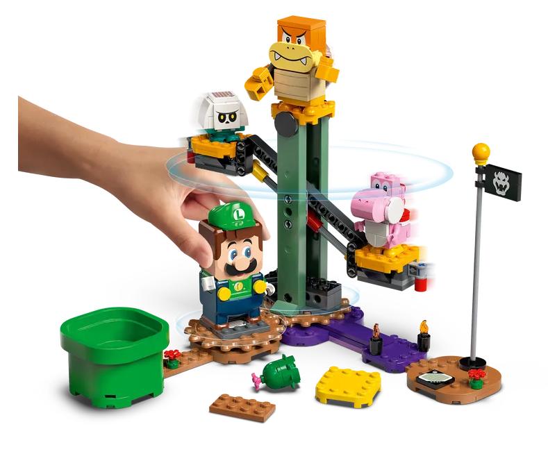 Lego Mario får sällskap av Lego Luigi