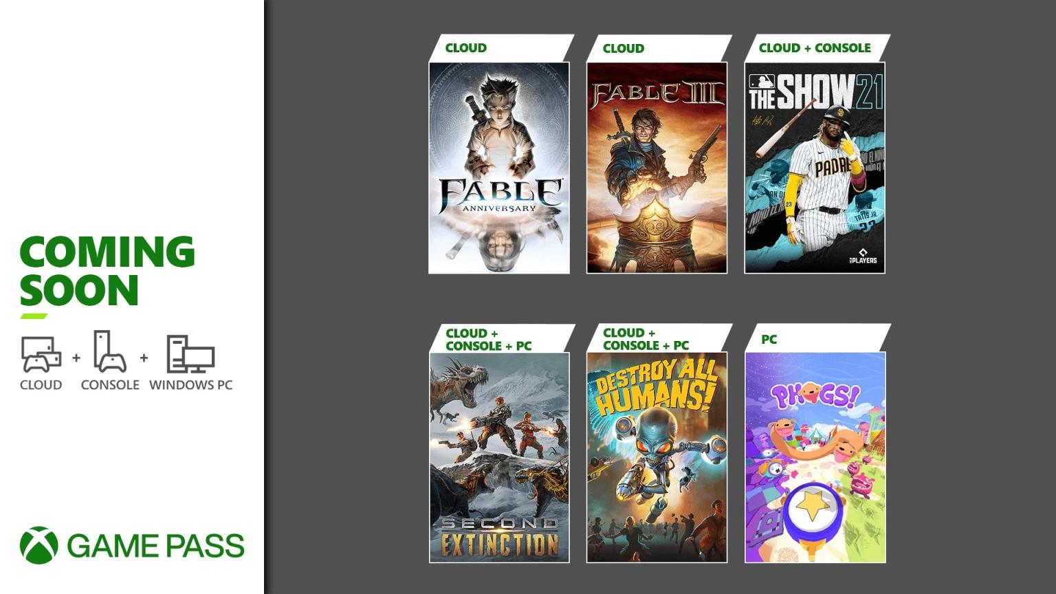 Destroy All Humans och Second Extinction på väg till Xbox Game Pass