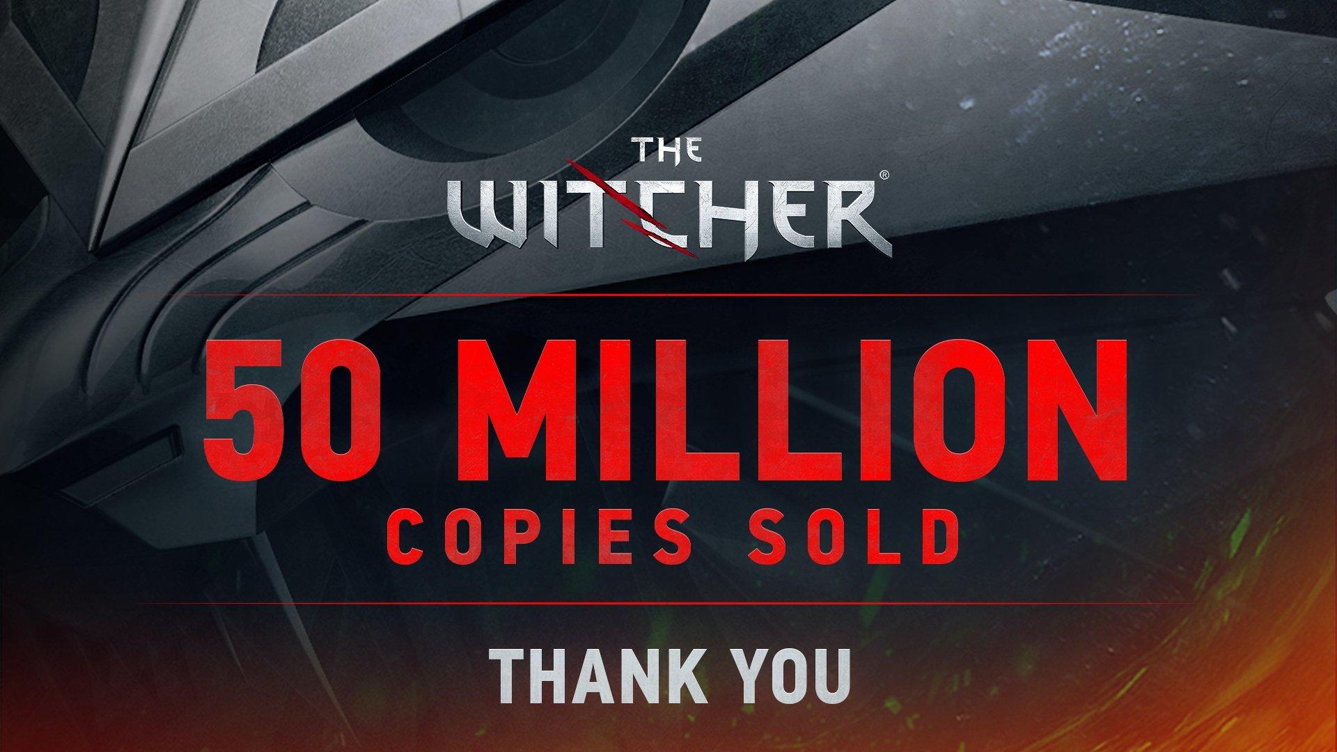 CD Projekt har sålt 50 miljoner The Witcher-spel