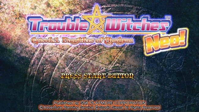 Trouble Witches Neo