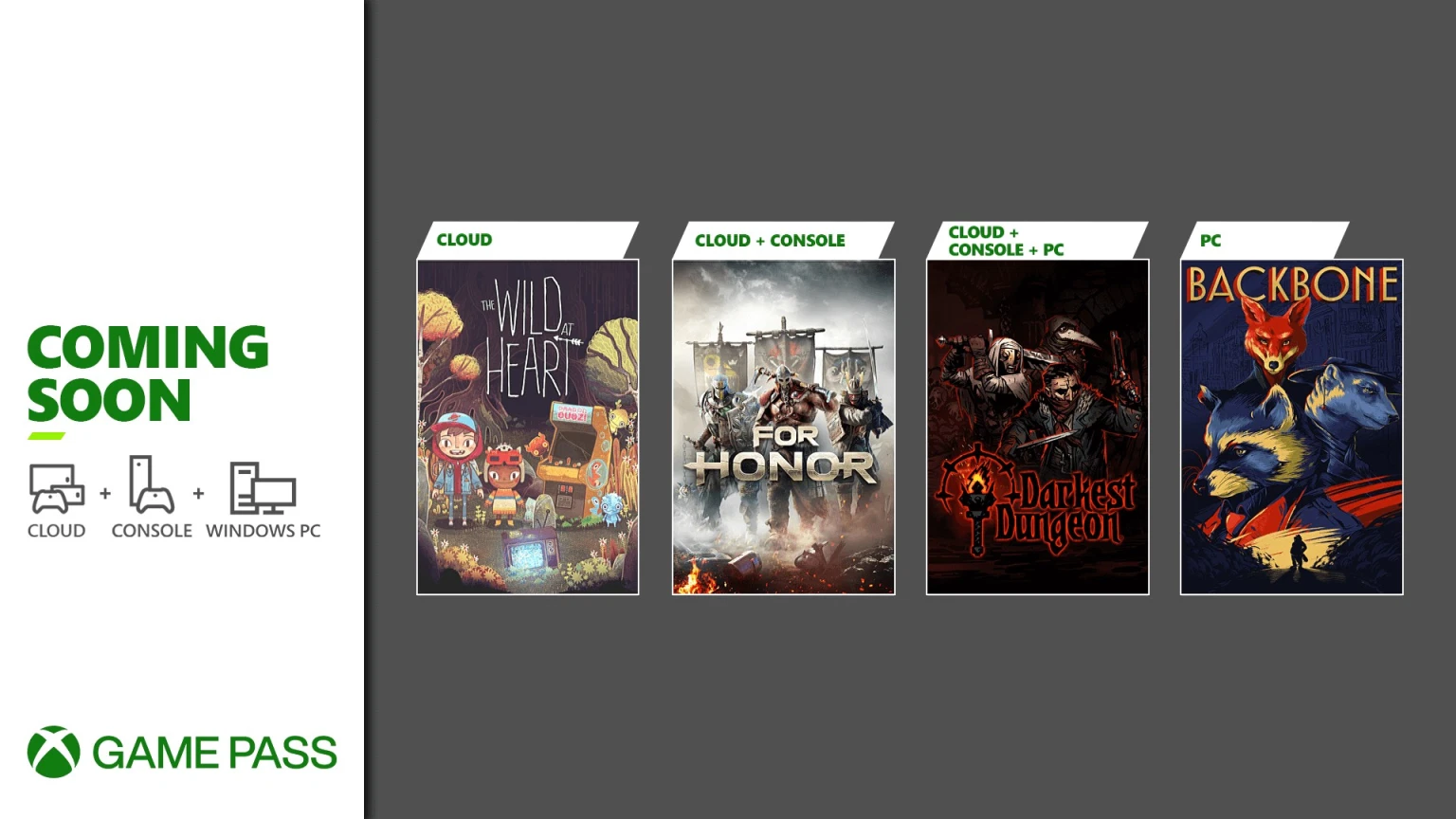Xbox Game Pass utökas med For Honor, Darkest Dungeon med mera