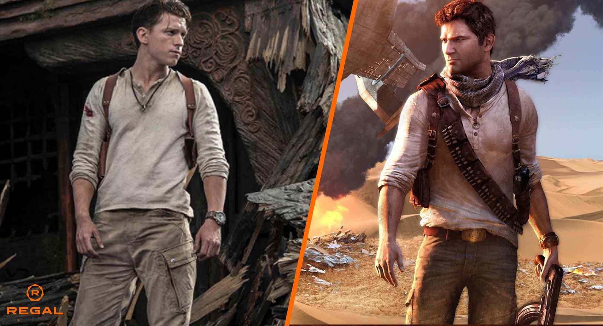 Sony släpper Uncharted-filmen på Netflix