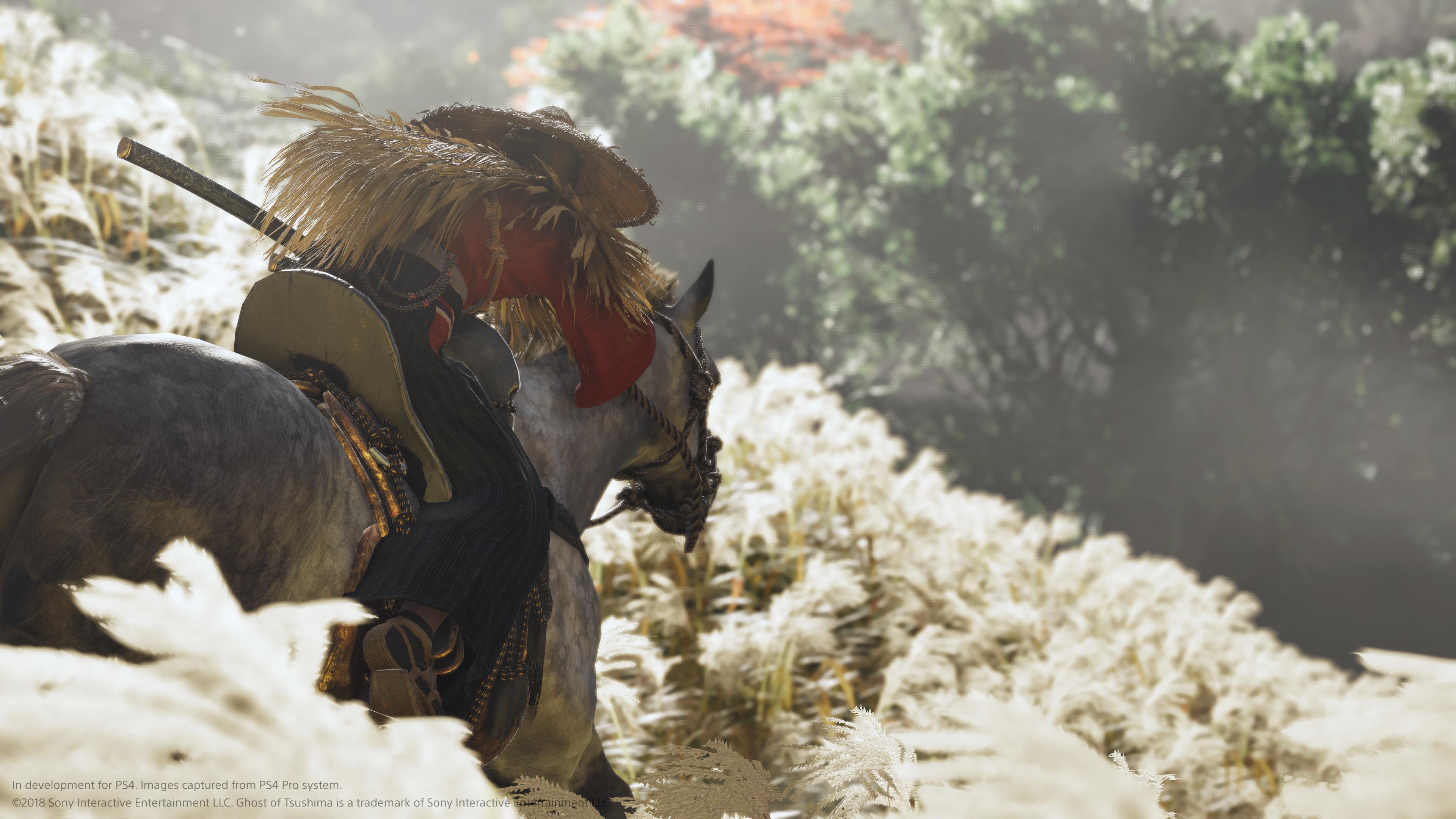 Din häst kan inte dö i Ghost of Tsushima