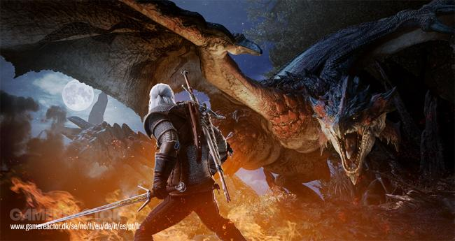 Geralt dyker upp i Monster Hunter: World i februari