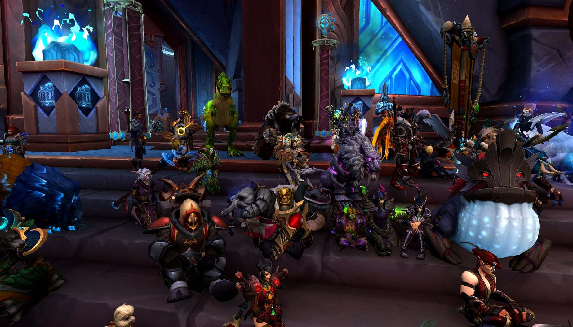World of Warcraft-spelare online-protesterar mot Activision Blizzard