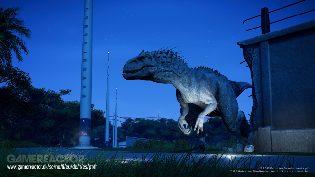 Jurassic World Evolution-Fallen Kingdom uppdatering ute nu
