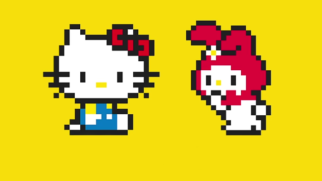 Hello Kitty på väg till Super Mario Maker