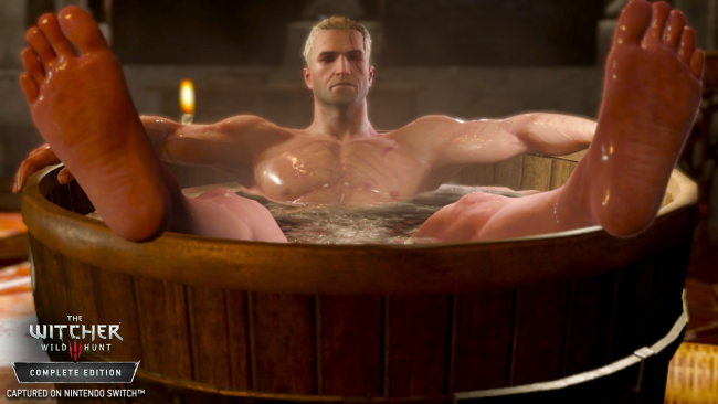 Här kommer en trave bilder på The Witcher 3 till Nintendo Switch