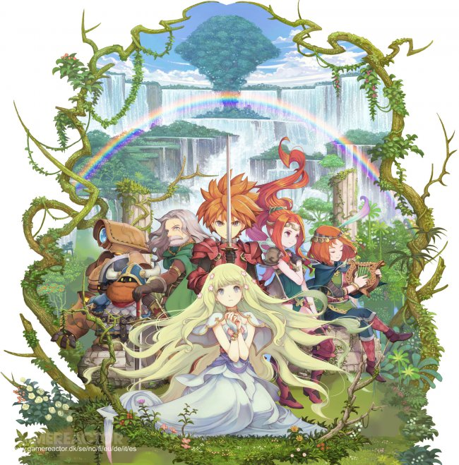Square överväger PS Vita-lansering av Adventures of Mana