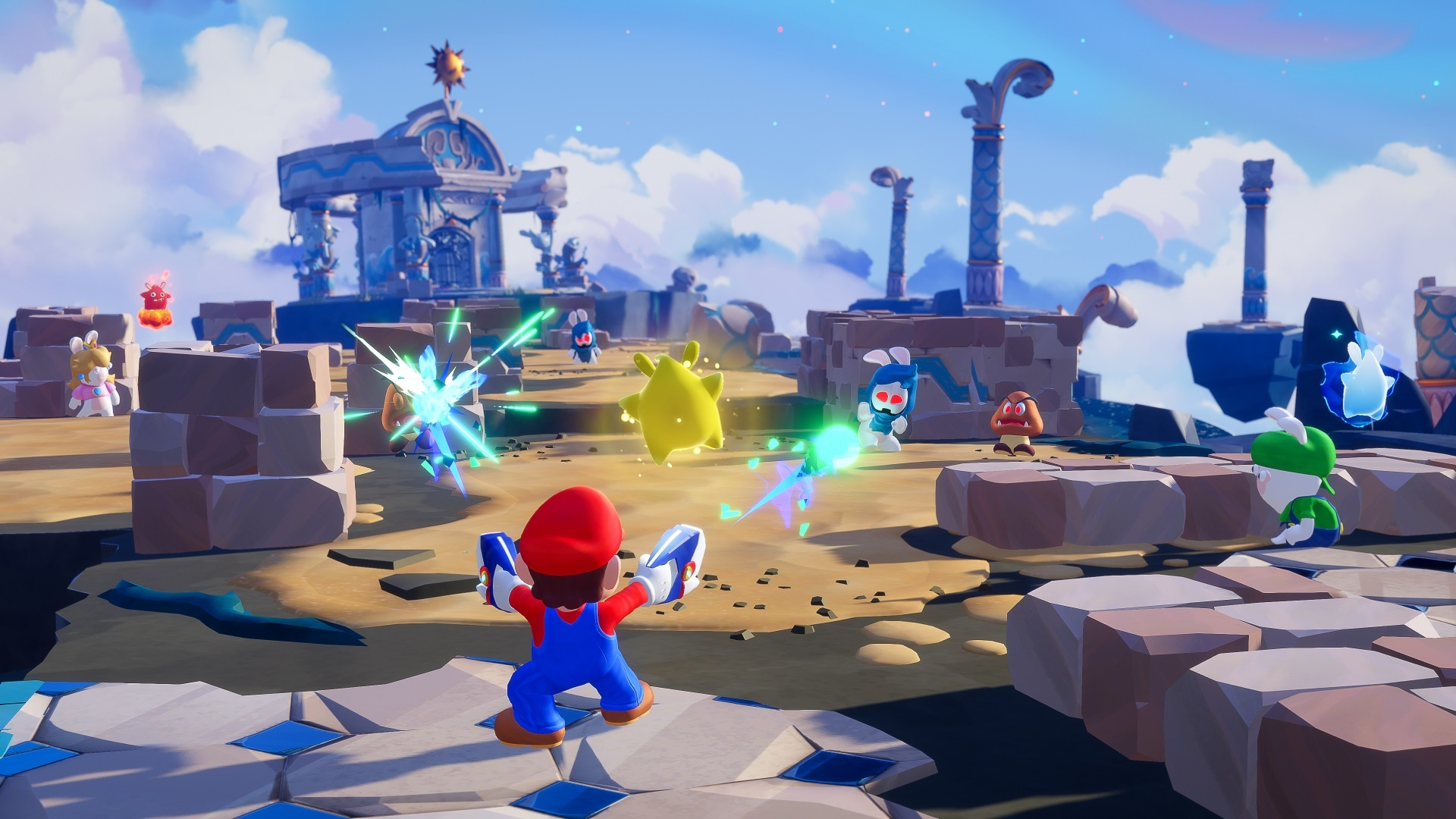 Mario + Rabbids: Sparks of Hope utvecklas av tre gånger fler personer än föregångaren