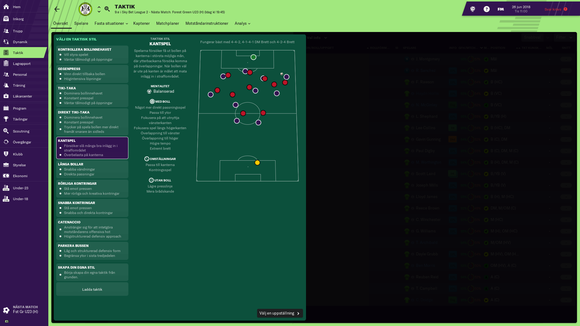 Vinn football manager 2019