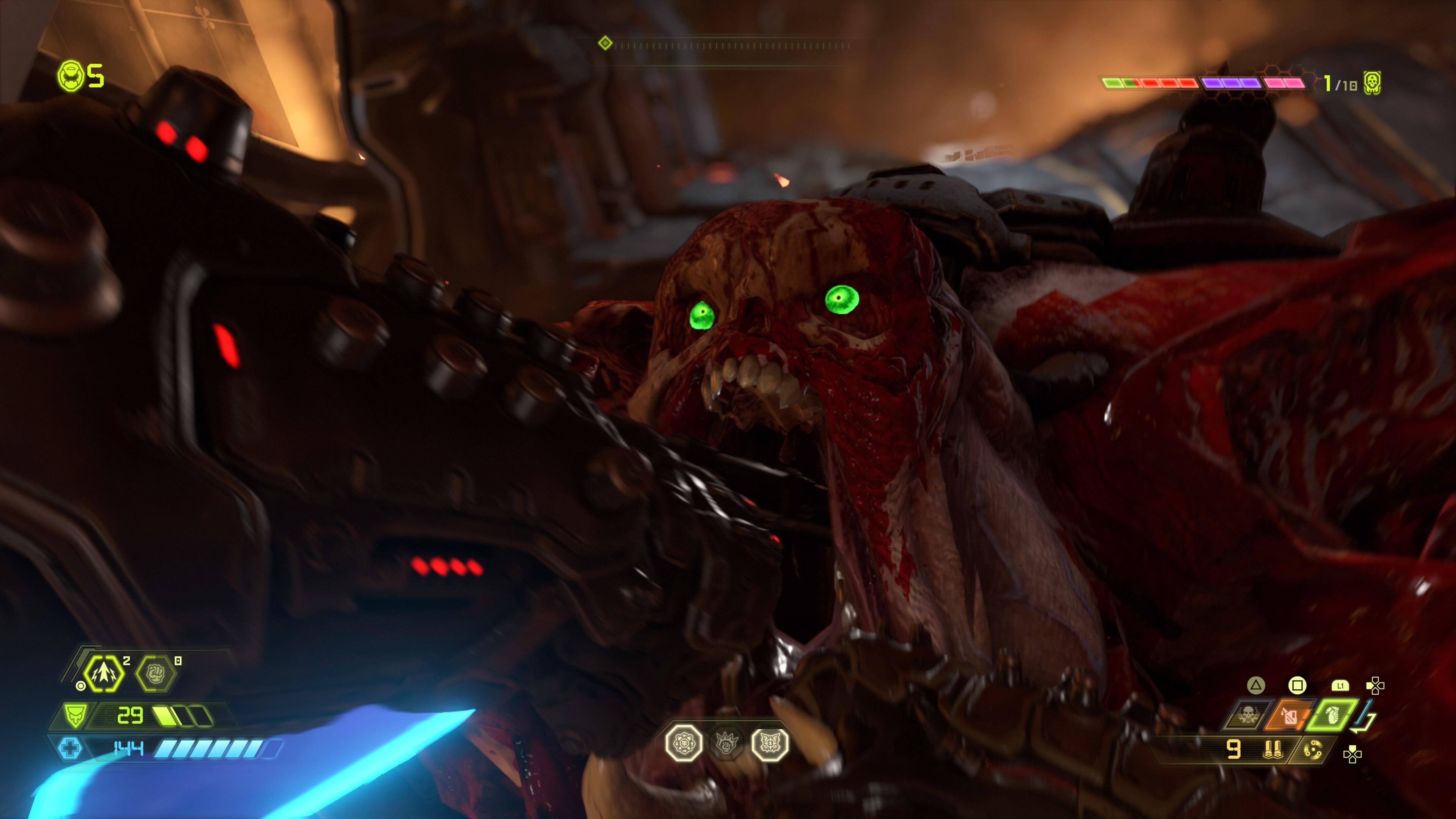Brutalt vackert gameplay i Doom Eternals nya 4K ray tracing trailer