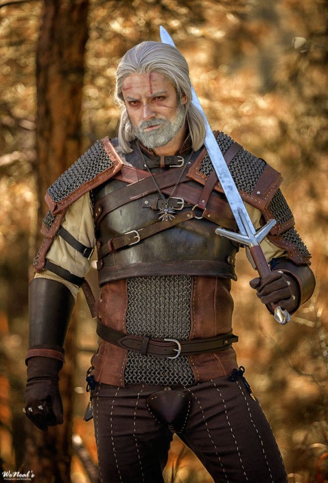 Kolla in prisbelönt Witcher 3-cosplay