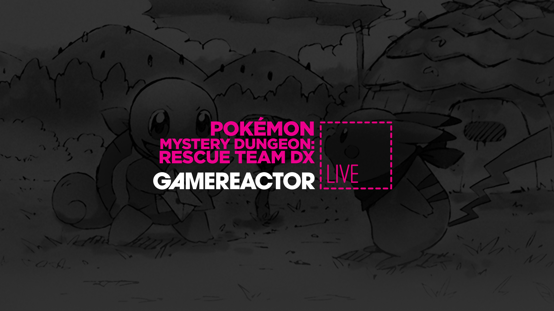 Gamereactor Live: Fickmonsteräventyr i Pokémon Mystery Dungeon
