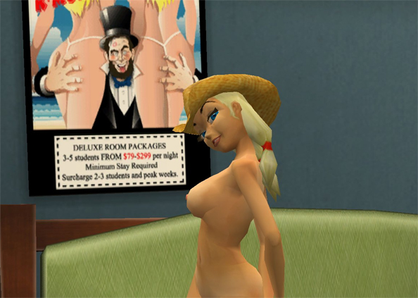 Accept. opinion, leisure suit larry nude girl for that