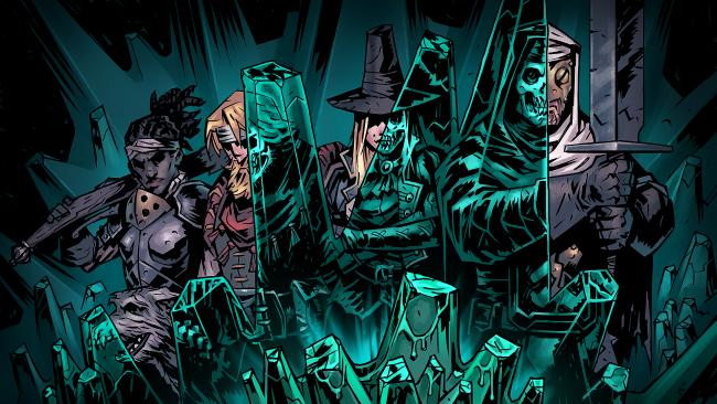 Lanseringstrailern för Darkest Dungeon: The Color of Madness