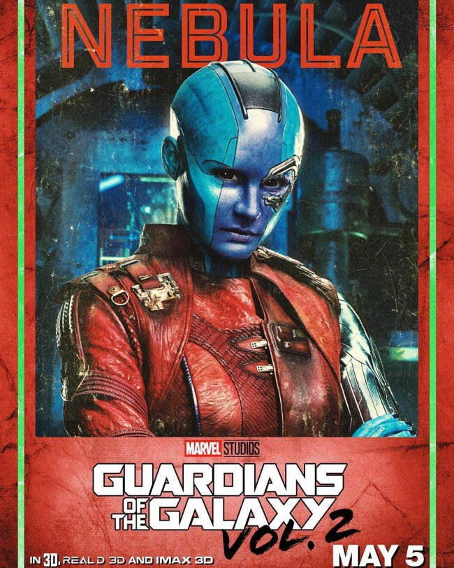 Kolla in dessa posters från Guardians of The Galaxy Vol.2