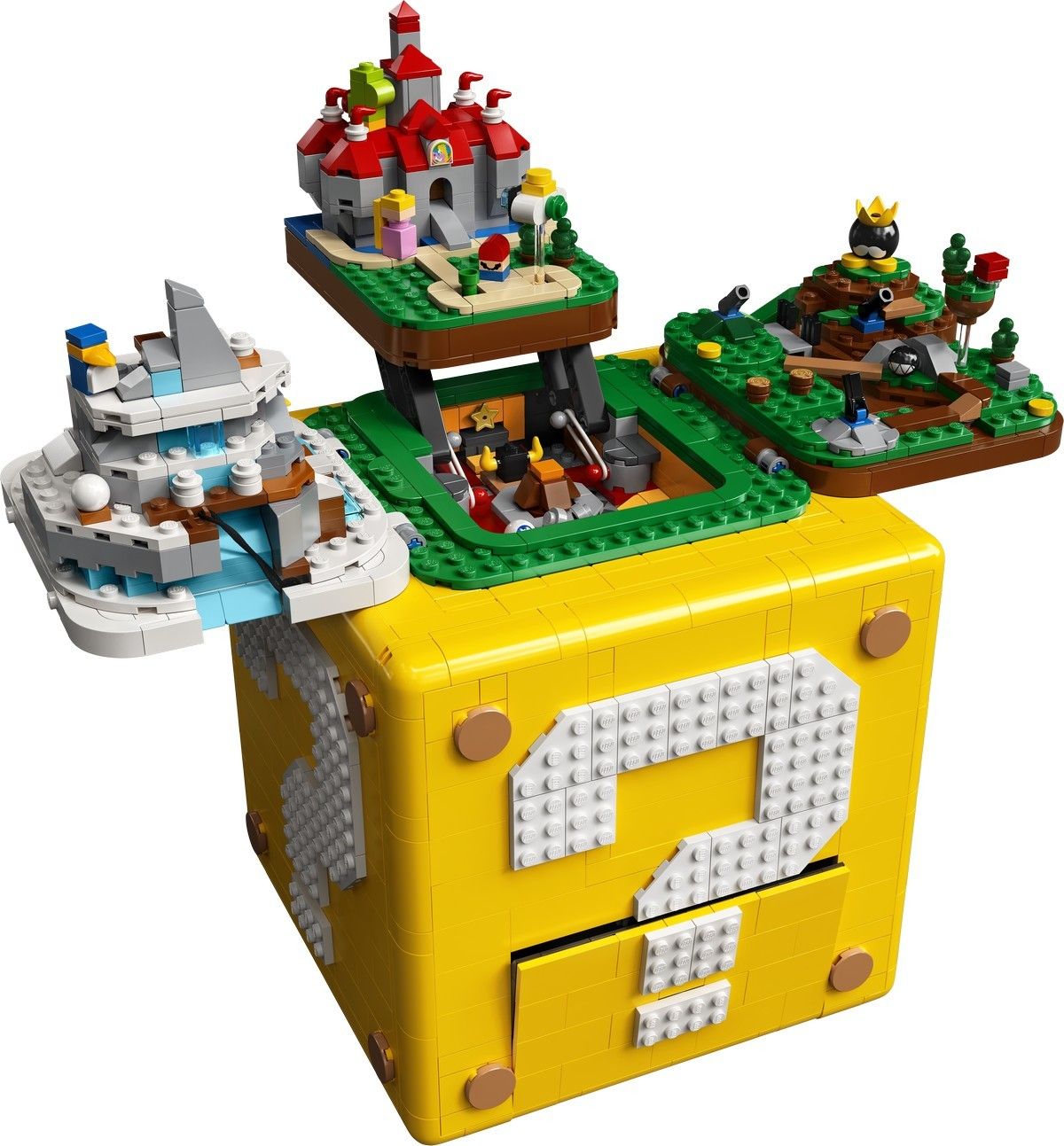 Läckert Super Mario 64-Lego släpps i oktober