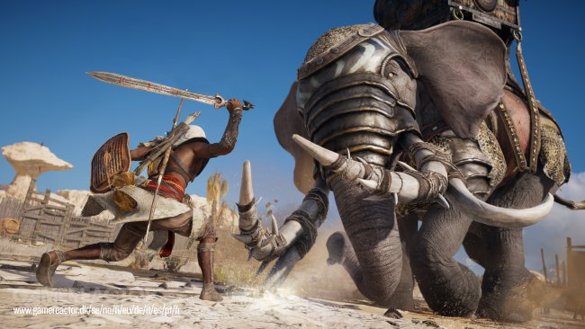 Vi spelar Assassin's Creed Origins: Curse of the Pharaoh