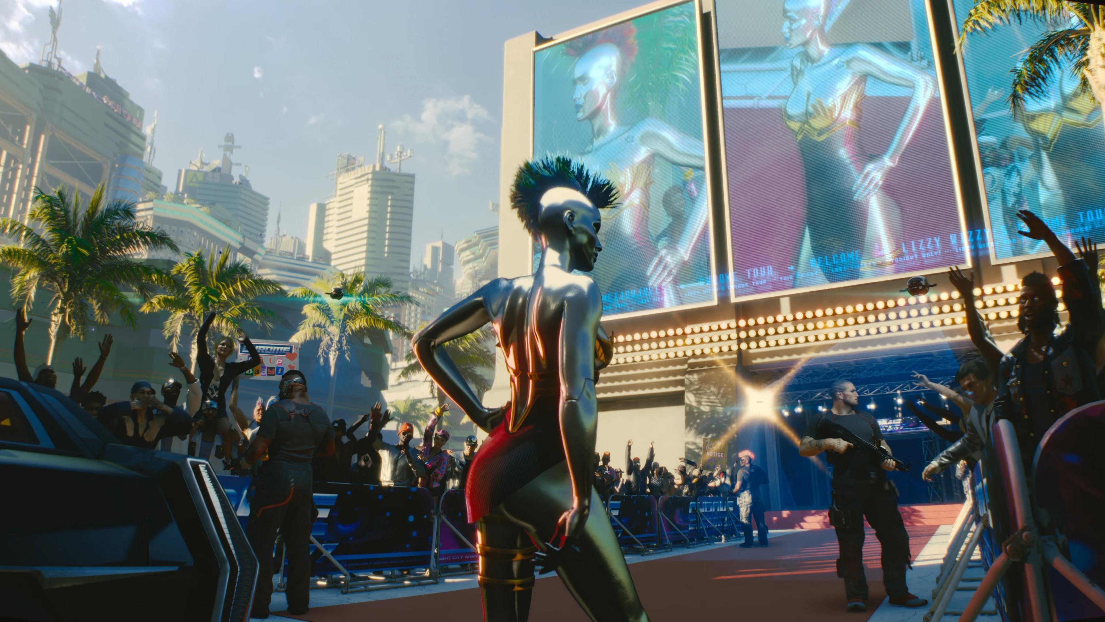 Cyberpunk 2077 släpps först sent i år till Stadia