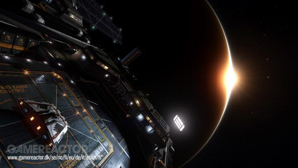 Elite Dangerous: Fleet Carriers-premiären spikad