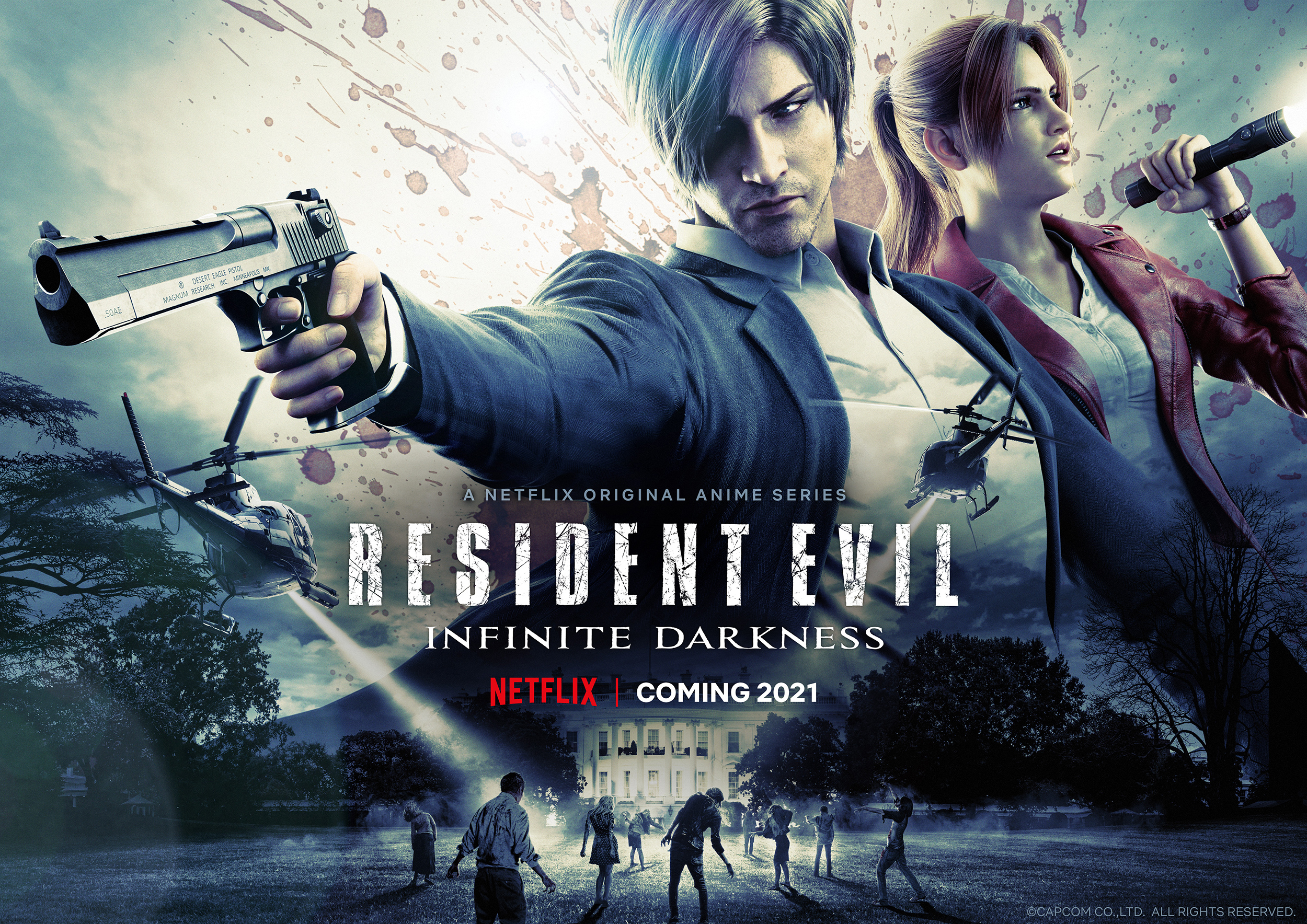 Resident Evil: Infinite Darkness-trailer avslöjar premiär i juli